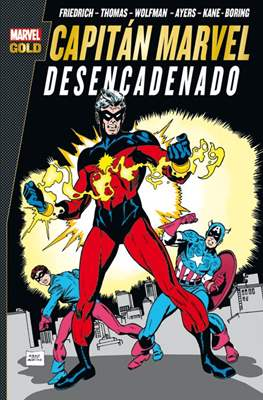 Capitán Marvel. Marvel Gold (Rústica con solapas.320 páginas.) #2