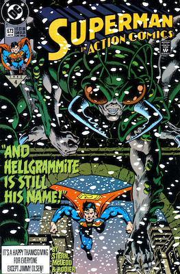 Action Comics Vol. 1 (1938-2011; 2016-) (Comic Book) #673