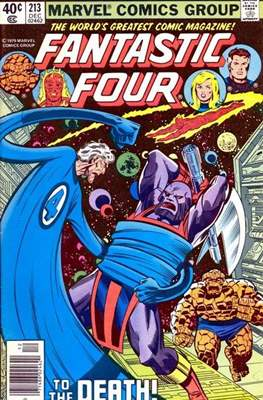Fantastic Four Vol. 1 (1961-1996) (saddle-stitched) #213