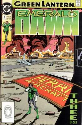 Green Lantern: Emerald Dawn (Grapa) #3