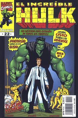 Hulk Vol. 3 (1998-1999). El Increible Hulk (Grapa 24 pp) #22