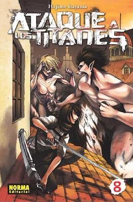 Ataque a los Titanes (Rústica con sobrecubierta) #8