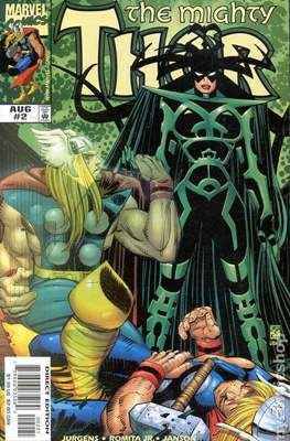 The Mighty Thor (1998-2004 Variant Cover) (Comic Book) #2