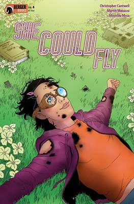 She Could Fly (Comic book 32 pp) #4