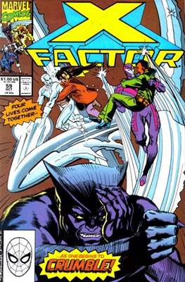 X-Factor Vol. 1 (1986-1998) (Comic Book) #59