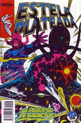 Estela Plateada Vol. 1 / Marvel Two-In-One: Estela Plateada & Quasar (1989-1991) (Grapa 32-64 pp) #7