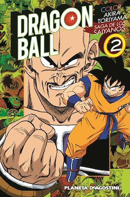 Dragon Ball Color: Saga de los saiyanos (Rústica con sobrecubierta) #2