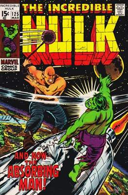 The Incredible Hulk Vol.1 (Saddle-stitched. 1962-1999) #125