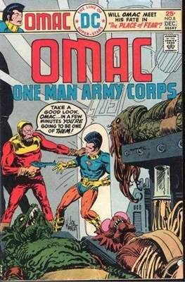 OMAC Vol 1 (Comic Book. 1974 - 1975) #8