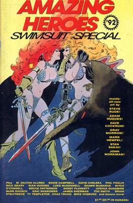 Amazing Heroes Swimsuit Special (Softcover 52-150 pp) #3