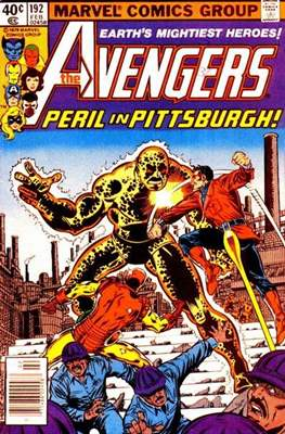 The Avengers Vol. 1 (1963-1996) (Grapa) #192