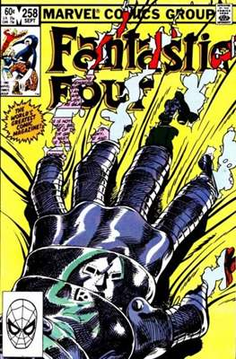 Fantastic Four Vol. 1 (1961-1996) (saddle-stitched) #258