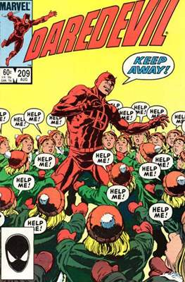 Daredevil Vol. 1 (1964-1998) (Comic Book) #209
