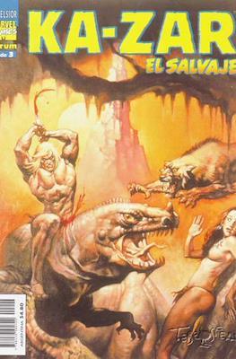 Ka-Zar El salvaje (1999) (Grapa. B/N.) #2