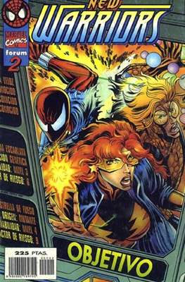 The New Warriors vol. 3 (1996-1997) (Grapa. 17x26. 24 páginas. Color.) #2