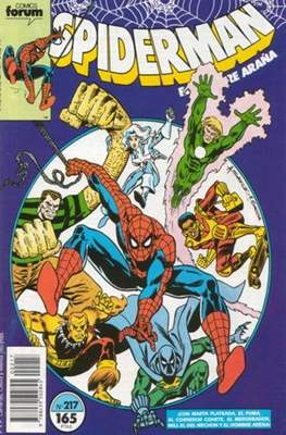 Spiderman Vol. 1 / El Espectacular Spiderman (1983-1994) (Grapa 32-48 pp) #217