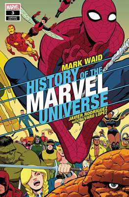 History of the Marvel Universe (Variant Cover) (Comic Book) #3