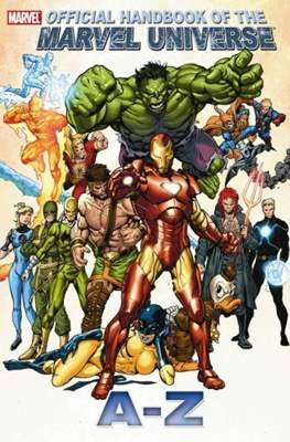 Official Handbook of the Marvel Universe A-Z #5