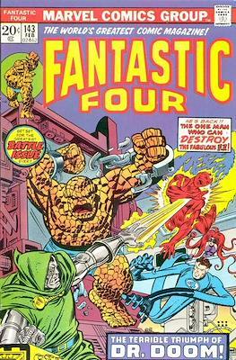 Fantastic Four Vol. 1 (1961-1996) (saddle-stitched) #143