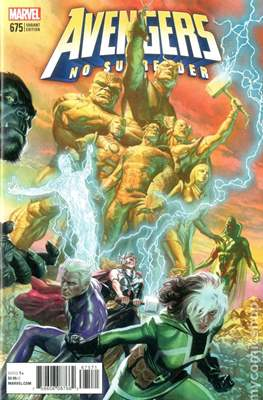 The Avengers Vol. 7 (2016-...Variant Covers ) (Grapa) #675