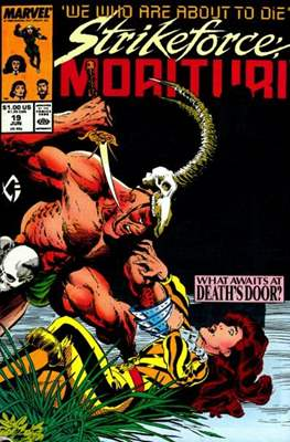 Strikeforce Morituri (Comic-book.) #19