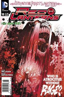 Red Lanterns (2011 - 2015) New 52 #18