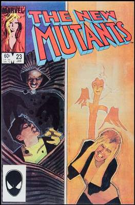 The New Mutants (Comic Book) #23