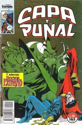 Capa y Puñal Vol. 1 / Marvel Two in One: Capa y Puñal & La Cosa (1989-1991) (Grapa 24-64 pp) #15