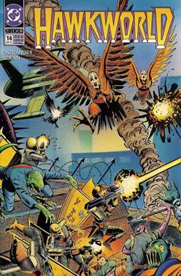 Hawkworld (Comic Book) #14
