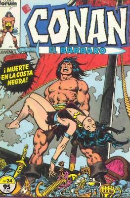 Conan el Bárbaro (1983-1994) (Grapa. 19x27. 36/32/24 páginas. Color.) #24