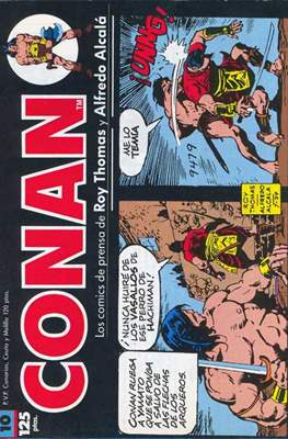 Conan. Los daily-strip comics (1989) (Grapa. 17x26 apaisado. 48 páginas. B/N.) #10