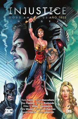 Injustice: Gods Among Us. Año tres