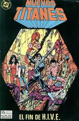 Nuevos Titanes Vol. 1 (1984-1988) (Grapa 40 pp) #38