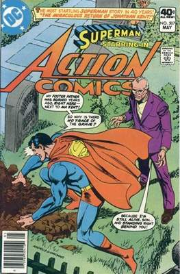 Action Comics Vol. 1 (1938-2011; 2016-) (Comic Book) #507