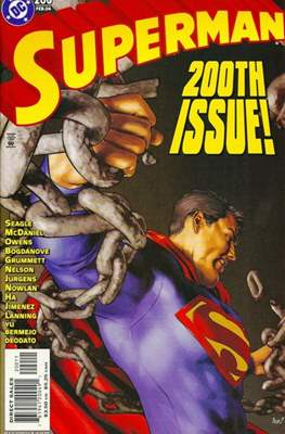 Superman Vol. 2 (1987-2006) (Comic Book) #200