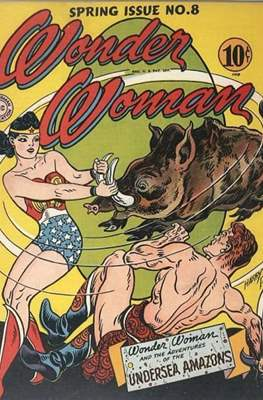 Wonder Woman Vol. 1 (1942-1986; 2020-) #8