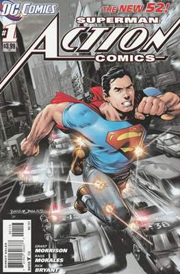 Action Comics (Vol. 2 2011-2016 Variant Covers) #1.4