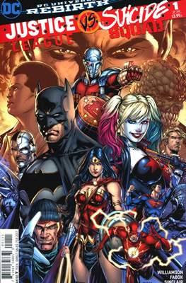 Justice League vs. Suicide Squad (2017) (Comic-book) #1