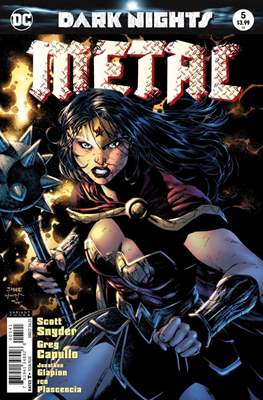 Dark Nights: Metal (Variant Covers) (Comic Book) #5.1