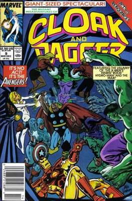 Cloak and Dagger Vol. 3 (1988-1991) (Comic-book.) #9
