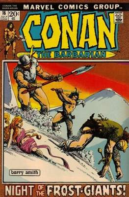Conan The Barbarian (1970-1993) (Grapa, 32 págs.) #16