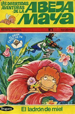 Las divertidas aventuras de la abeja Maya