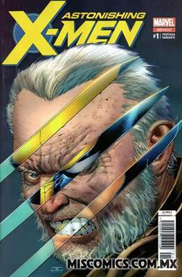 Astonishing X-Men (2018- Portada variante)
