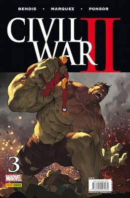 Civil War II (2016-2017) (Grapa. Color) #3