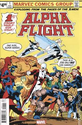 Alpha Flight #1 - Facsimile Edition