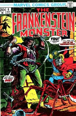 The Frankenstein monster (Grapa) #6