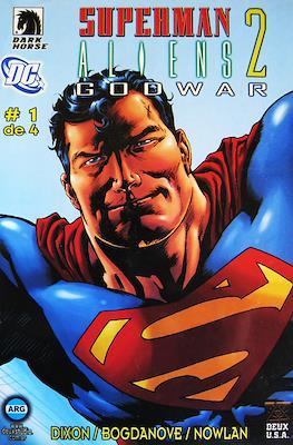 Superman / Aliens 2 Godwar (Grapa) #1