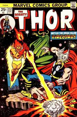 Journey into Mystery / Thor Vol 1 (Comic Book) #232