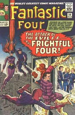 Fantastic Four Vol. 1 (1961-1996) (saddle-stitched) #36