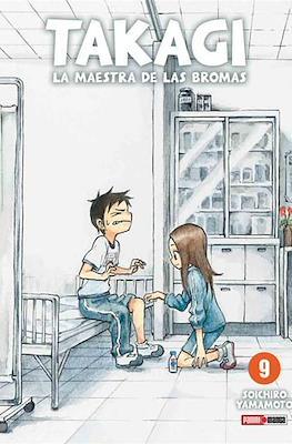 Takagi: La maestra de las bromas #9